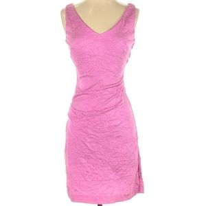 Nicole Miller Cocktail Party Pink Dress Size 0